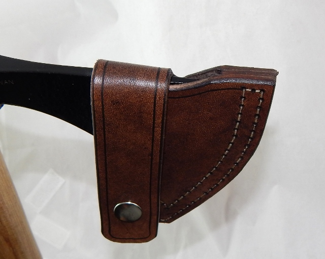 Cold Steel Pipe hawk leather sheath