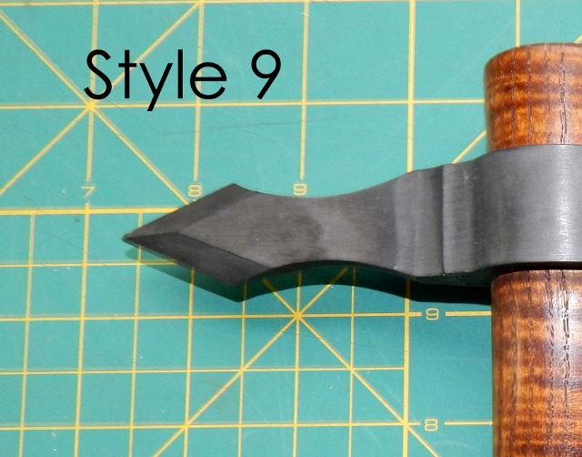 Hammer/Spike style 9