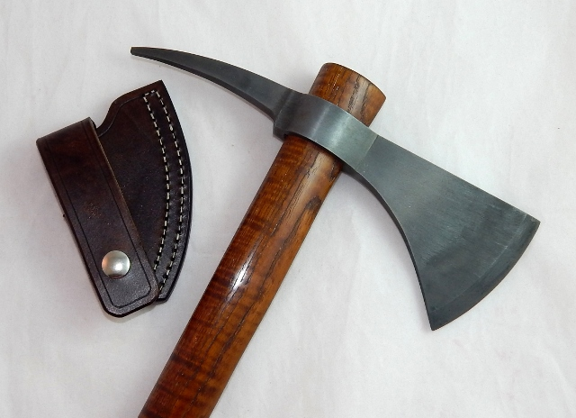 Hand forged tomahawk