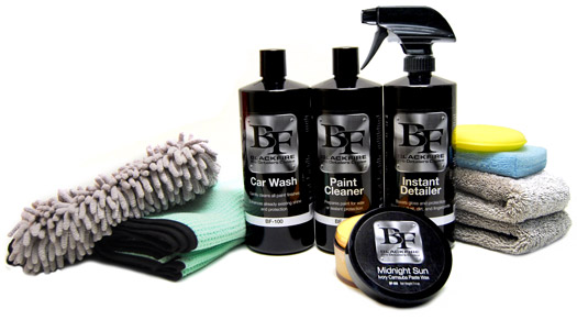 BLACKFIRE car care products turn heads and create whiplash!