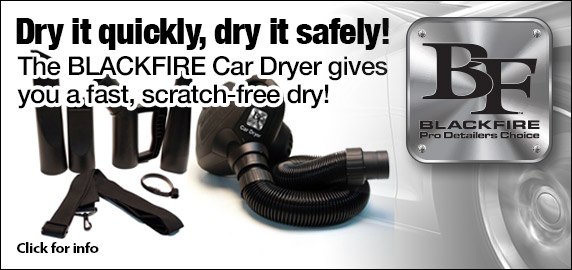 BLACKFIRE Car Dryer!