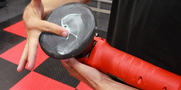 We will prime the pad to reduce friction and pad wear.