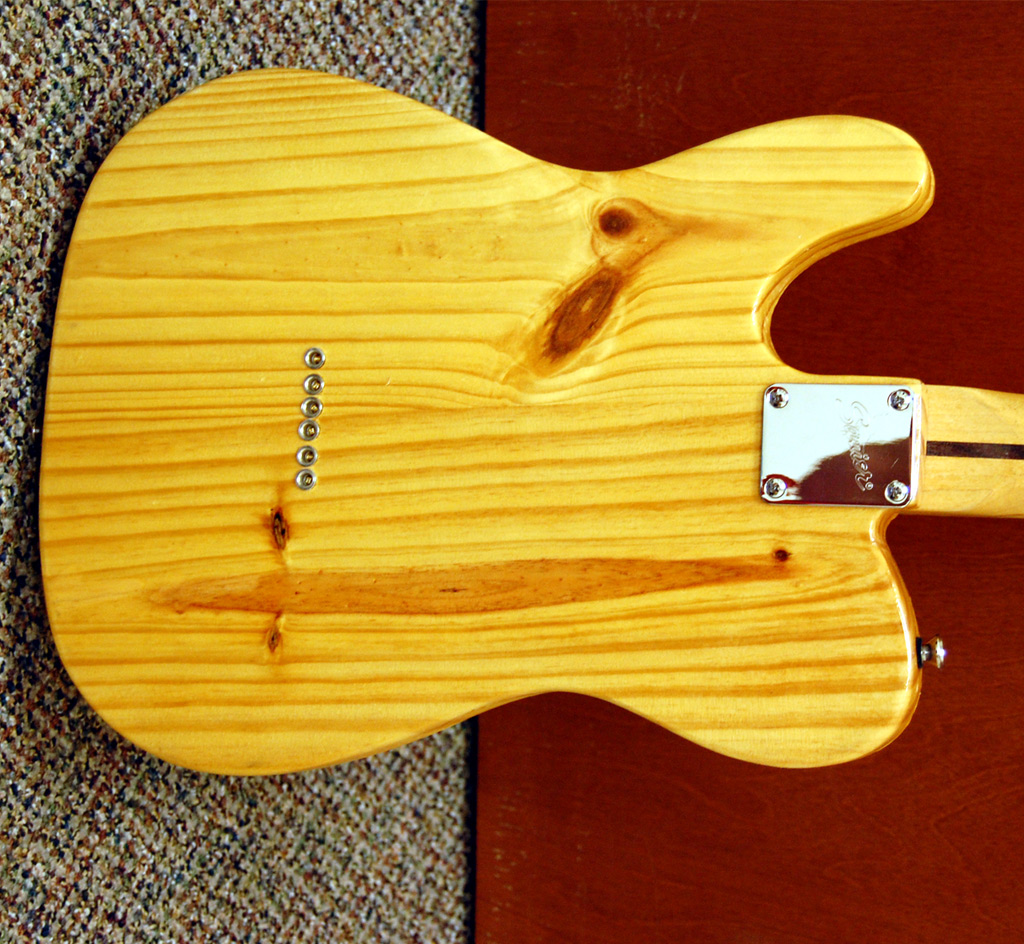 1949 Fender Telecaster Prototype - UV Curing