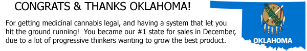Oklahoma became our #1 state for sales