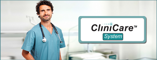 CliniCare System, a Tone/Visual RATH® Nurse Call System for 1-6 Zones