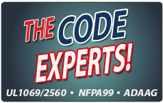 RATH's Nurse Call Systems follow specific codes and standards. UL 1069, UL 2560, NFPA 99, and ADAAG code compliant