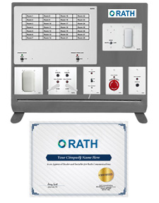 Rath Nurse Call Demo Kit and Certified Installer Certificate