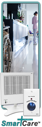 SmartCare Wired Nurse Call System for 1-240 zones