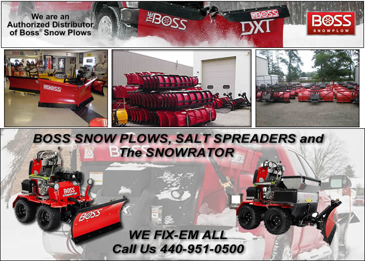 Boss Snow Plows Cleveland Ohio