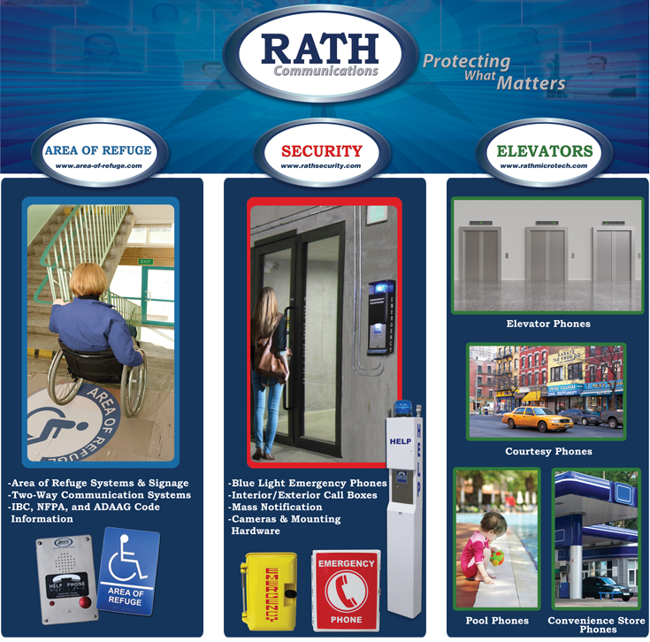Rath Communications: Area of Refuge, Rath Security, Rath Microtech