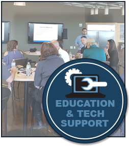 Education and Tech Support: Sign up for Certified Training Programs, Contact Tech or View our Catalog