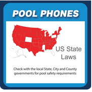 RATH® Emergency Pool Phones are fully compliant with individual code requirements per each US State