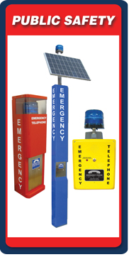 RATH® Security Blue Light Emergency Phones Specifiers' Corner