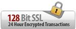 Shop Securely 128-bit SSL Encryption
