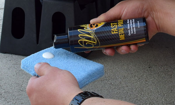 FAST Metal Polish is easy to apply