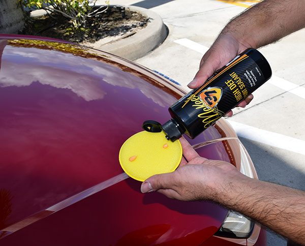 High Def Paint Sealant is a high gloss, low effort formula