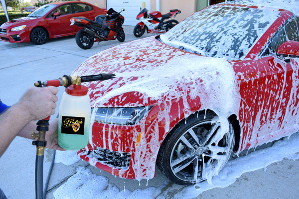 McKee's 37 Xtreme Foam Formula is the only car wash made for foam guns