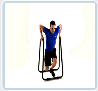 Beginner Pull Up Bar Dip Station Workout