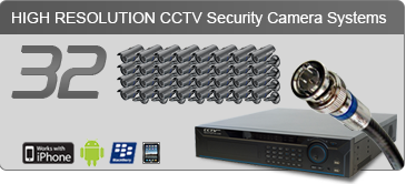 security camera systems,32 Camera Systems