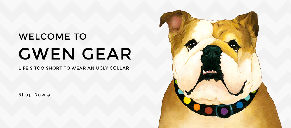 Dog Collars By GwenGear San Francisco.