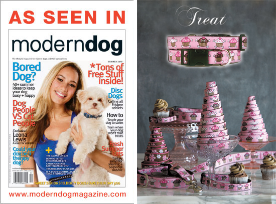 Gwen Gear featured in Modern Dog Magazine