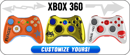 Build Your Own Xbox 360 Custom Controllers