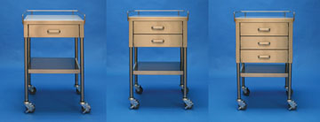 MAC Medical Prep Stands Utility Tables 3 models