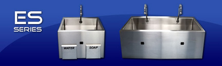 ES Series Scrub Sinks