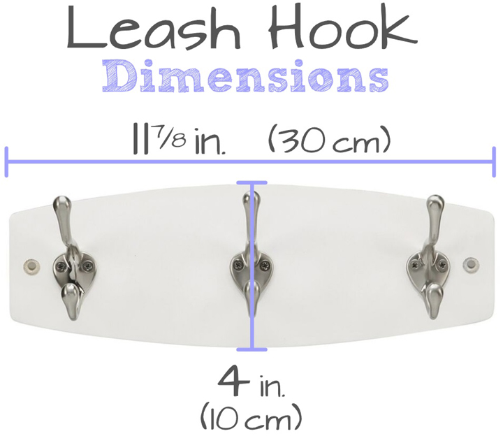 dog leash hook sizing