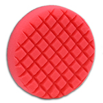 Cross Groove Red LSP Finishing Flex Foam Buffing Pad