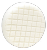Cross Groove White Polishing Flex Foam Buffing Pad