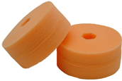 Cyclo Polisher DoublePrecision orange light cutting pads