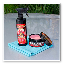 Wolfgang Deep Gloss Spritz Sealant is a perfect match with Wolfgang Füzion.
