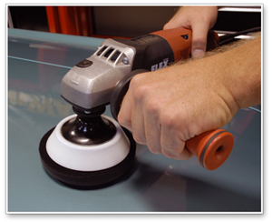 The Flex-Foam HD Rotary Backing Plate has a dense foam pad and sturdy plate for rugged use.