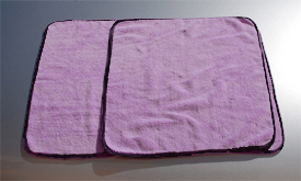 Super Plush Junior and Super Plush Deluxe Microfiber Towels can be used for buffing, detailing, and drying.