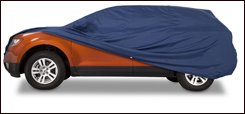 Covercraft WeatherShield HP custom car cover.