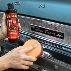 Wolfgang Exterior Trim Sealant is effective on metals.