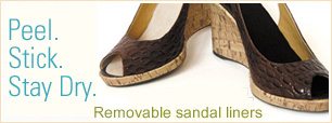 New! Cure Hyperhidrosis foot problems with Summer Soles hyperhidrosis insoles.