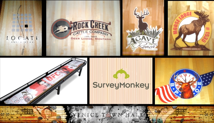 Groovy Hudson Shuffleboards Custom Logos Home Remodeling Inspirations Genioncuboardxyz