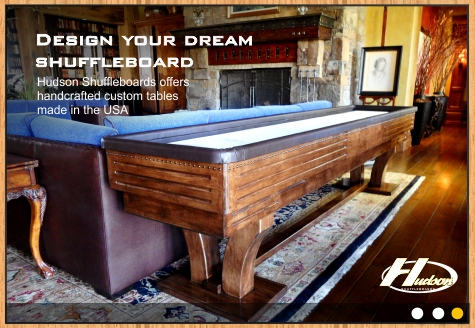 Ordinaire Hudson Shuffleboards: Made In The USA: Table Shuffleboard Equipment