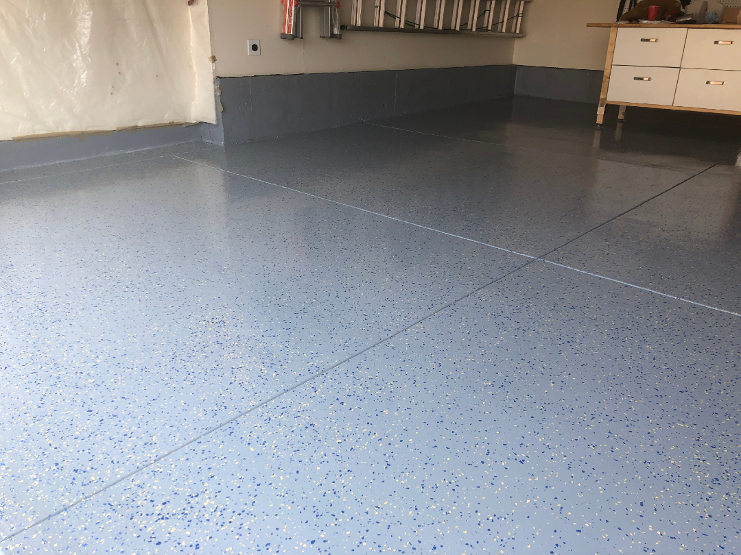 After ArmorGarage Epoxyy Floor Kit