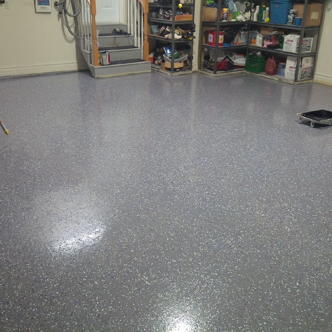 Garage Floors Paint: Epoxy Flooring Coating And Paint