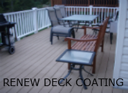 RENEW WOOD DECK COATING