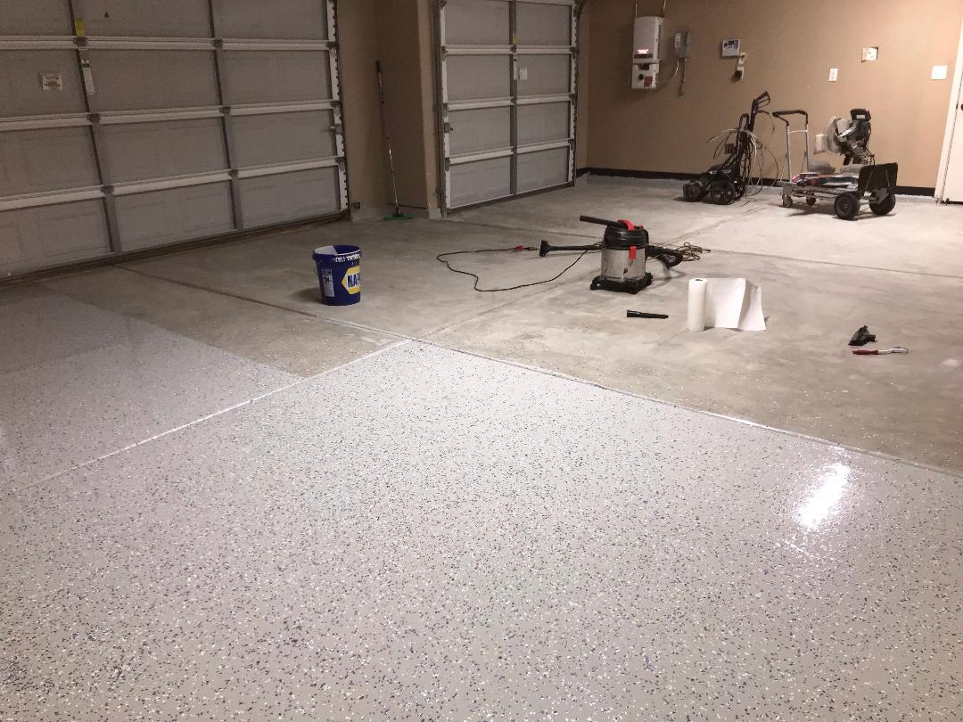 EPOXY FLOORING PREP & APPLICATION