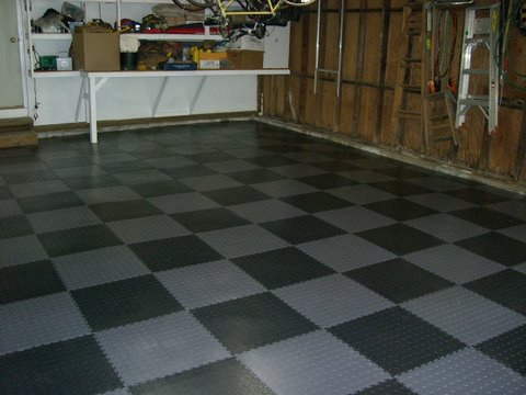 composite to vinyl for over the epoxy floor all garage how tile tiles apply vct coated