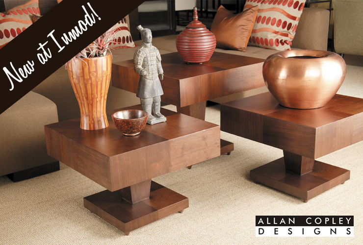 Take a look at new mid-century modern furniture by Allan Copley Designs!
