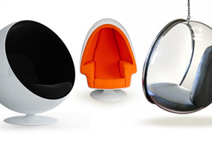 Mid-Century Ball/Egg/Bubble Chairs