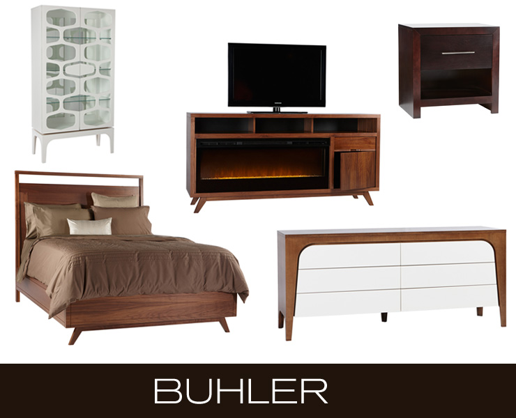 Take a look at Buhler - a new line of retro modern furniture and media/TV stand fireplaces now available at Inmod.com!