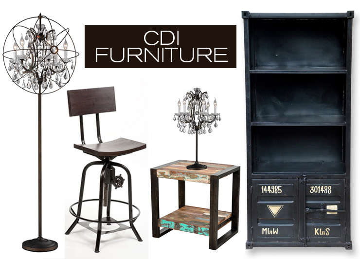 Take a look at CDI Furniture - a new line of industrial modern furniture now available at Inmod.com!