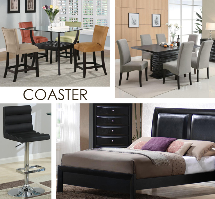 Take a look at Coaster- a new line of modern furniture now available at Inmod.com!